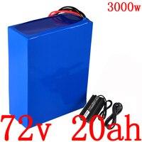 72 72V 2000W 3000W scooter elétrico da bateria V 20AH 72V li-ion bateria bicicleta elétrica da bateria de scooter 72V 20AH bateria De Lítio