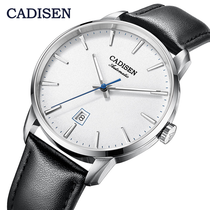 CADISEN2020 New Top Men's Automatic Mechanical Watch Luxury Brand Mechanical Watch Military Business Leisure  Waterproof Manly