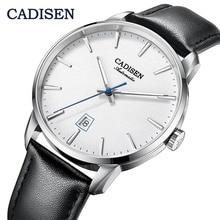 CADISEN2020 Nieuwe Top Mannen Automatische Mechanische Horloge Luxe Merk Mechanisch Horloge Militaire Business Leisure Waterdichte Manly