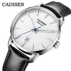 Image 1 - CADISEN2020 חדש למעלה גברים של אוטומטי מכאני שעון יוקרה מותג מכאני שעון צבאי עסקי פנאי עמיד למים גברי