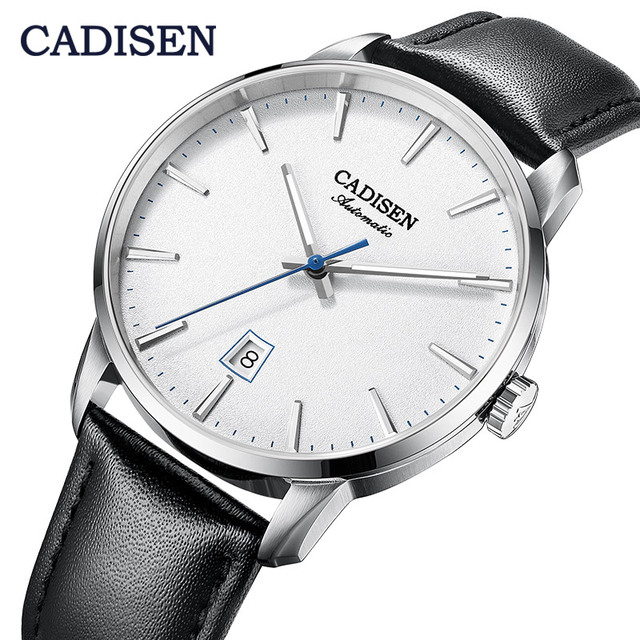 CADISEN2020 חדש למעלה גברים של אוטומטי מכאני שעון יוקרה מותג מכאני שעון צבאי עסקי פנאי עמיד למים גברי