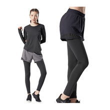 Leggings Skirt Yoga-Pants Trousers Traning Compressed Elastic Gym Seamless Fitness Women