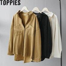 Toppies Vrouwen Shirts Zwart Wit Shirts 2020 Lente Vrouwen Tops Koreaanse Lange Mouwen Blouses Blusas Mujer