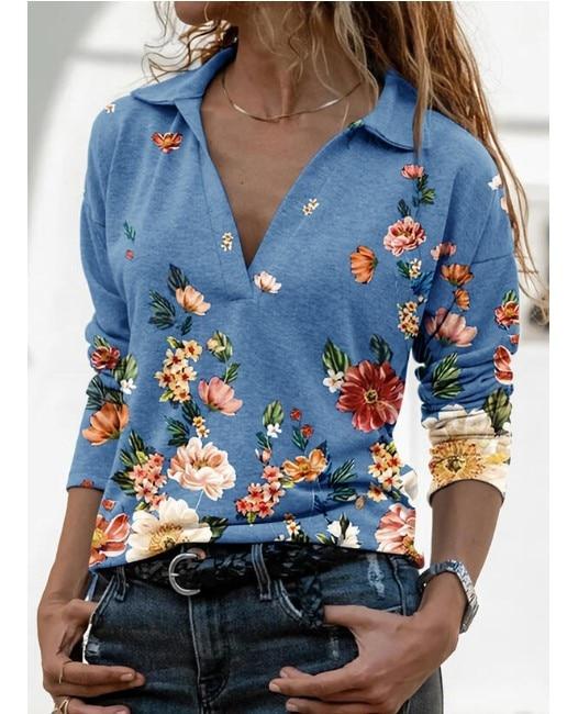 Aprmhisy Graphic Shirts Women Autumn New Long Sleeve Casual Streetwear Blouse Shirt Blusas Femininas 27