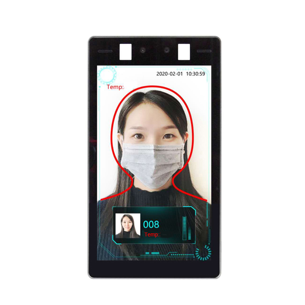 8 Inch Thermal And Facial Recognition Tablet Network Camera  Ip Camera  Thermal Imaging Camera 1080P With Alarm And Face Capture