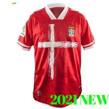 20 21 FC Cartagena camisetas de fútbol hogar GALLAR 10 BULKA 13 HARPER 12 AGUZA 5 CLAVERIA 21 DELMAS 22 2020 jersey de fútbol