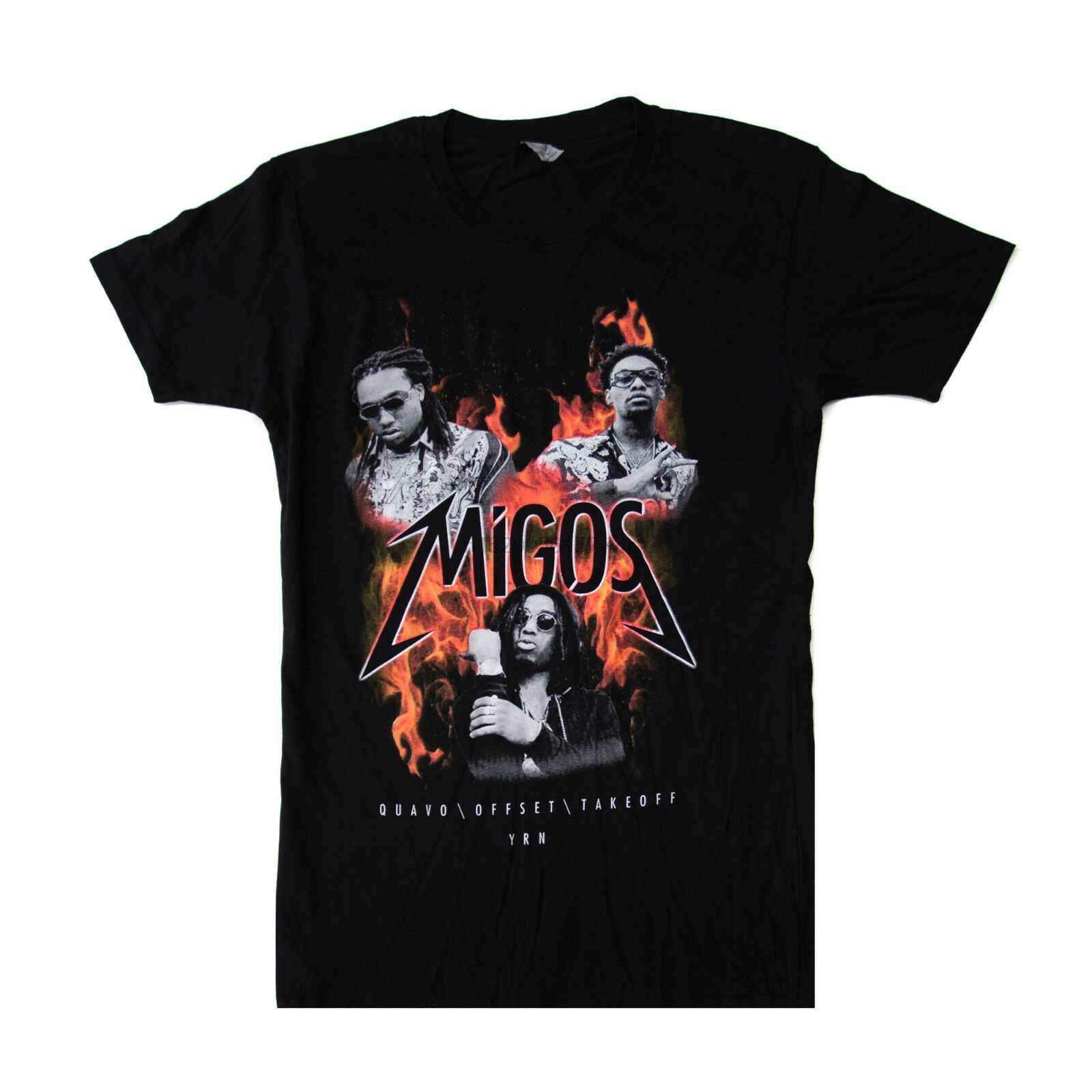 Официальная футболка Migos Merch Fire Culture