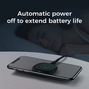 Image 5 - Joyroom 10W Fast LED Wireless Charger For Samsung Galaxy S7 S6 EDGE S8 S9 S10 Plus Usb cable For iPhone 8 x 11 portable charger