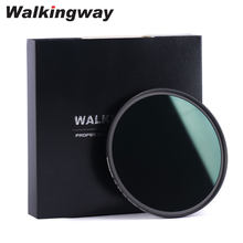 WalkingWay HD Multi Coated MC ND Filter Filtro ND8 ND64 ND1000 Filter Neutral Density Optical Glass Filter 40.5-82mm for Camera