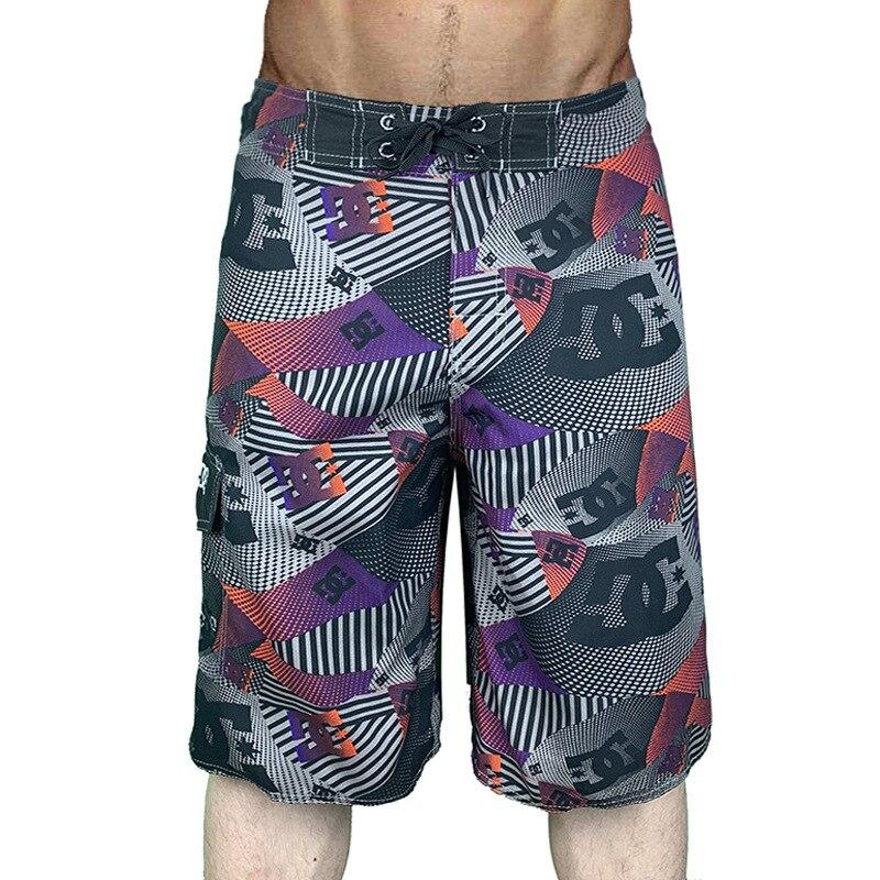 O novo 2020 peachskin fleecy seco praia calças calças calças de fitness shorts de natação surf cinco minutos shorts