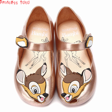 Buy Halloween Kids Girl's Shoes Deer Bambi Jelly Sandals Winter Toddler Baby's Sandals Birthday Gift Dress Accessories For Christmas directly from merchant!