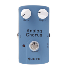 JOYO JF-37 ANALOG CHORUS Electric Guitar Effect Pedal with True Bypass joyo jf 37 analog chorus guitar audio effect pedal with true bypass free power supply and shipping