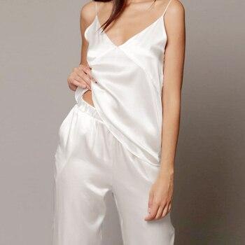 Women Satin Pajamas Set INTIMATES Pajama Sets
