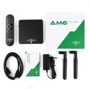 Image 5 - UGOOS AM6 בתוספת טלוויזיה תיבת אנדרואיד 9.0 טלוויזיה חכמה תיבת AM6 פרו S922X DDR4 4GB RAM 32GB כפולה wiFi 1000M BT5.0 4K מדיה נגן AM6 2G 16G