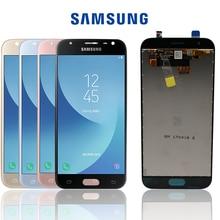 """Ban Đầu Năm 5.0 """"Dành Cho Samsung Galaxy Samsung Galaxy J3 2017 J330 J330F J3 Pro Màn Hình LCD Hiển Thị Không Chết Điểm Ảnh Màn Hình Cảm Ứng Sigitizer hội Replacment"""