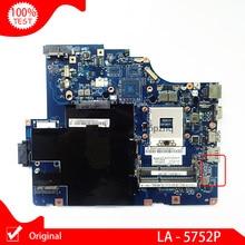 Original Laptop motherboard For Lenovo G560 Z560 NIWE2 LA-5752P Rev:1.0 Mainboard DDR3 HM55 main board