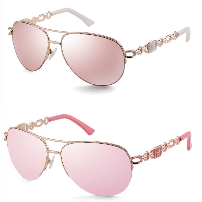 FENCHI sunglasses women uv 400 oculos female glasses sun glasses mirror Pilot Pink feminino zonnebril dames gafas de sol mujer 20