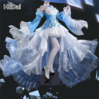 Rem and Emilia Cosplay Anime Re:Life in a different world from zero Cosplay Costume Ice Crystal Dress Woman Sexy Party Outfits