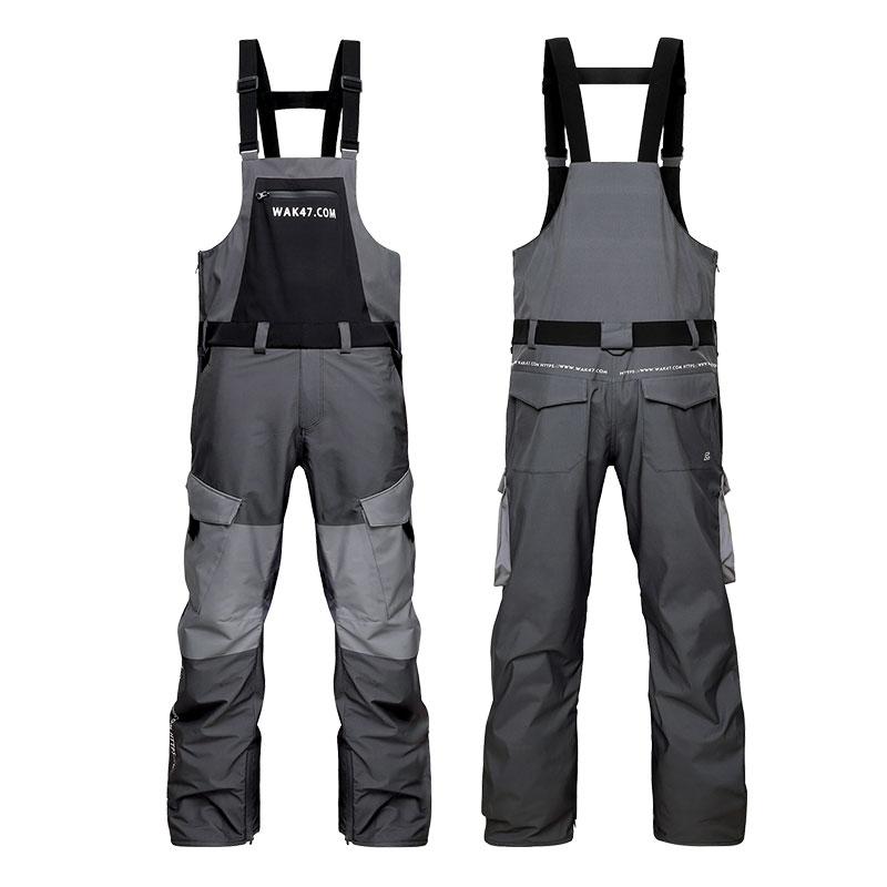 SPATA 2020 Ski Suit Women Waterproof Snowsuit Professional Winter Clothing Snow Ski Suit Men One Piece Jumpsuit Ski Pants Warm