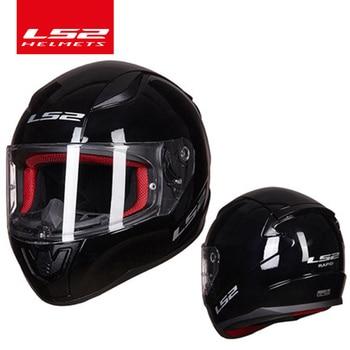 LS2 Быстрый Полнолицевой мотоциклетный шлем ABS безопасная структура лучше, чем FF320 шлем moto capacete LS2 FF353 уличные гоночные шлемы