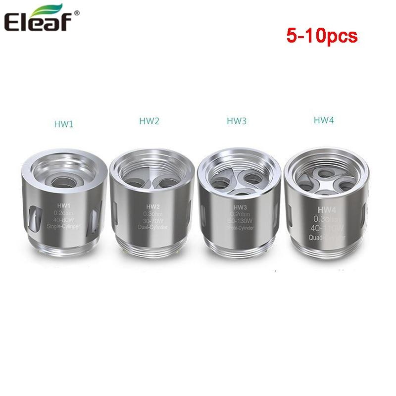 5pcs/lot Eleaf HW1 Coil HW2 HW3 HW4 Head E Cigarette Coil  Fits Eleaf ELLO Tank IStick Pico 21700 IKonn 220 IJust Nexgen