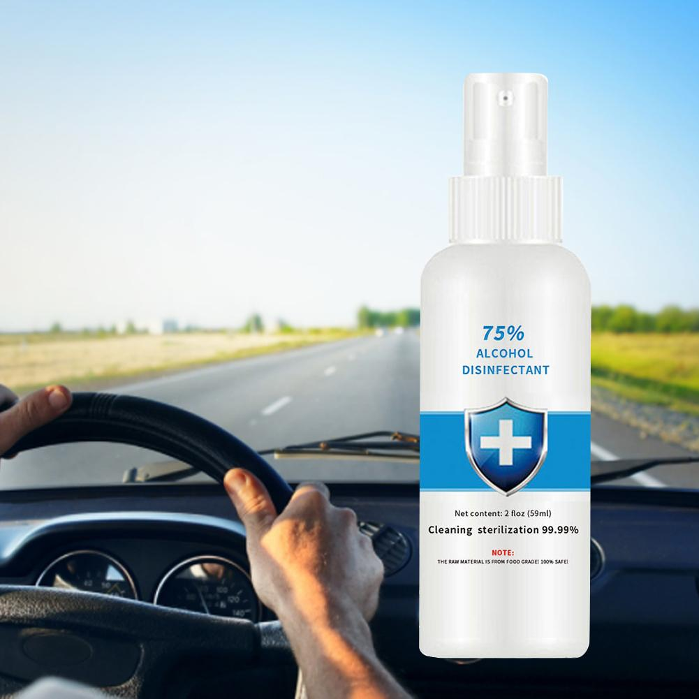 100ml Disposable Hand Sanitizer With 75% Alcohol Wash Free Hand Sanitizer Spray Gel 100ml For Automotive Interior Cleaning Spray