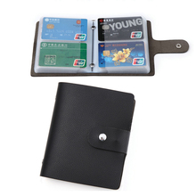 2019 Fashion PU Leather Function 60 Bits Card Case Business Card Holder Men Women Credit Card Holder Bag ID Passport Card Wallet high quality pu leather passport cover fashion alligator embossing travel passport case men women id credit card holder wallet