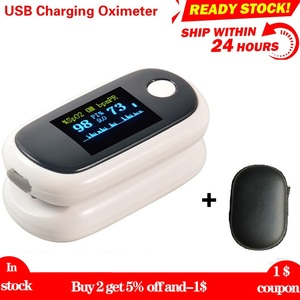 Fingertip Pulse Oximeter Finger Oxymeter Oximetro pulso OLED Oximeters SPO2 PR PI RR monitor for Android IOS Dropshipping
