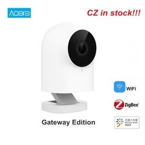 Image 1 - Aqara g2 gateway edição 1080p câmera ip inteligente zigbee ligação app controle sem fio nuvem dispositivo de segurança em casa