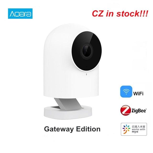 Aqara g2 gateway edição 1080p câmera ip inteligente zigbee ligação app controle sem fio nuvem dispositivo de segurança em casa