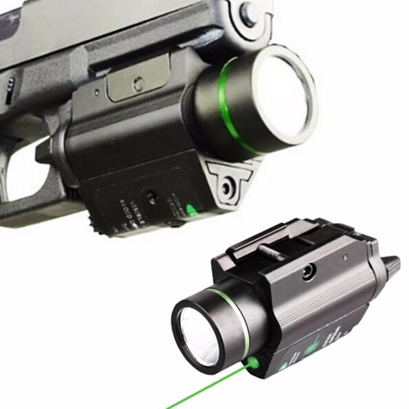 Tactical combo metal ponto verde laser visão