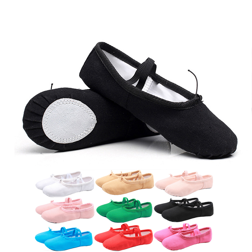 Women Ladies Dance Ballet Shoes Womens Gym Sport Yoga Fitness Latin Dancing Shoes Sneakers Baby Girl Shoes Soft Bottom Cat Claw