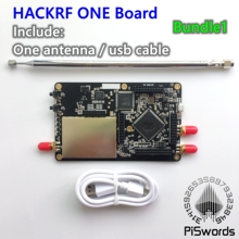HackRF One SDR Software Defined Radio board with tcxo module antenna