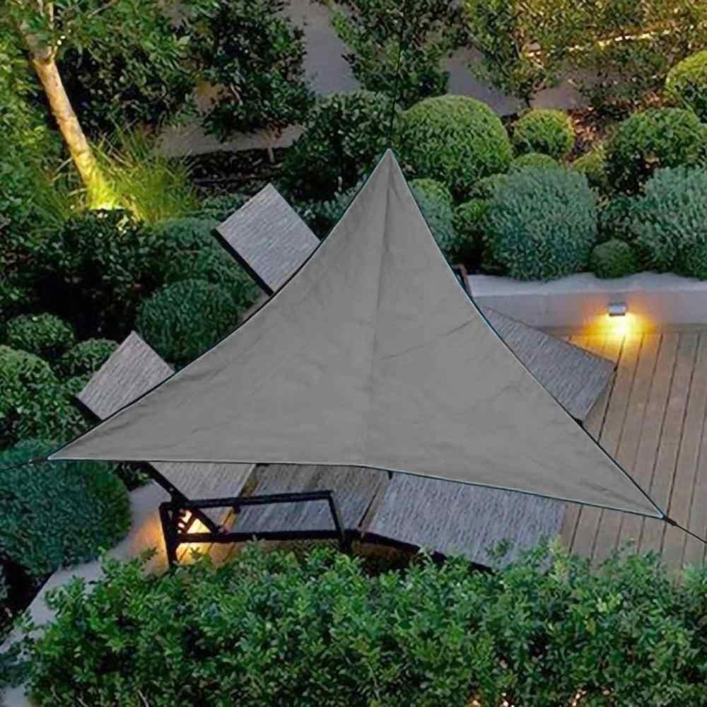 Sun Shade Sail Cloth Awning Shadecloth Mat Canopy Camping Outdoor Garden Cover