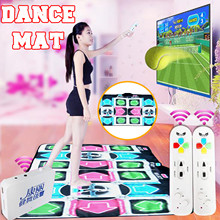 Wireless Double Dance Mat Tv And Computer Dual-use Slimming Dance Machine Recreational Fntertainment Gaming Accessories