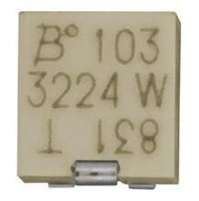 100% NOVA Original 3224W-1-201E 200R 3224W-1-204E 200K 3224W-1-105E 1M 3224W-1-202E 2K 3224W 1/4W 0.25W Resistores Trimpots