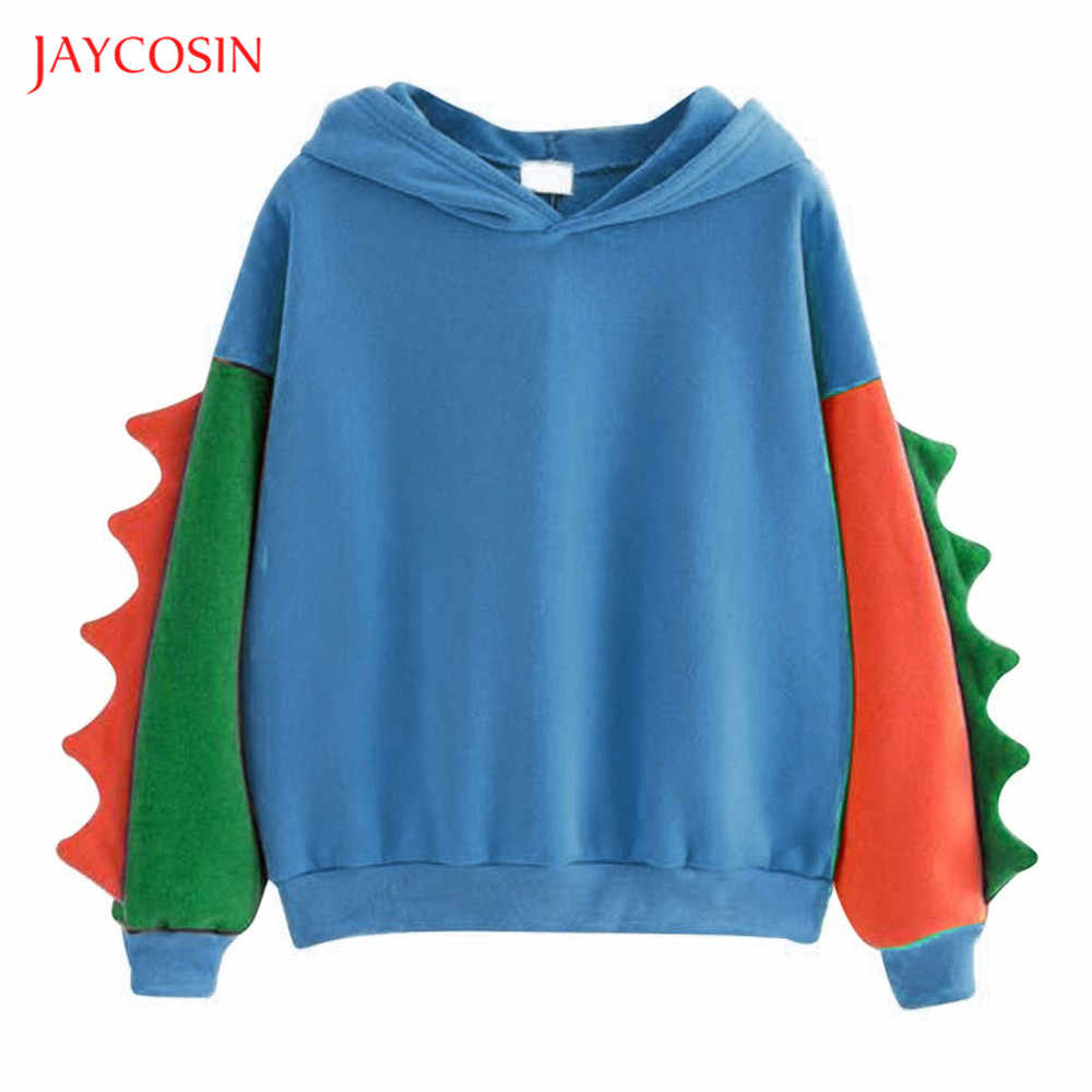 Joycosin 2019 Winter women hoodie sweatshirts Casual Fashion Dinosaur Baby dress up long sleeve pullover Party tops warm