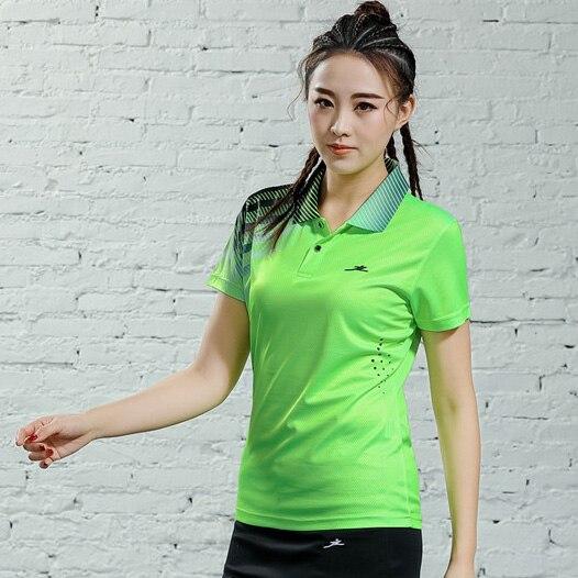 V-образная горловина, короткий рукав, форма для настольного тенниса, один топ для мужчин и женщин, летняя одежда для учеников средней школы, студентов средней школы - Цвет: B2622female4