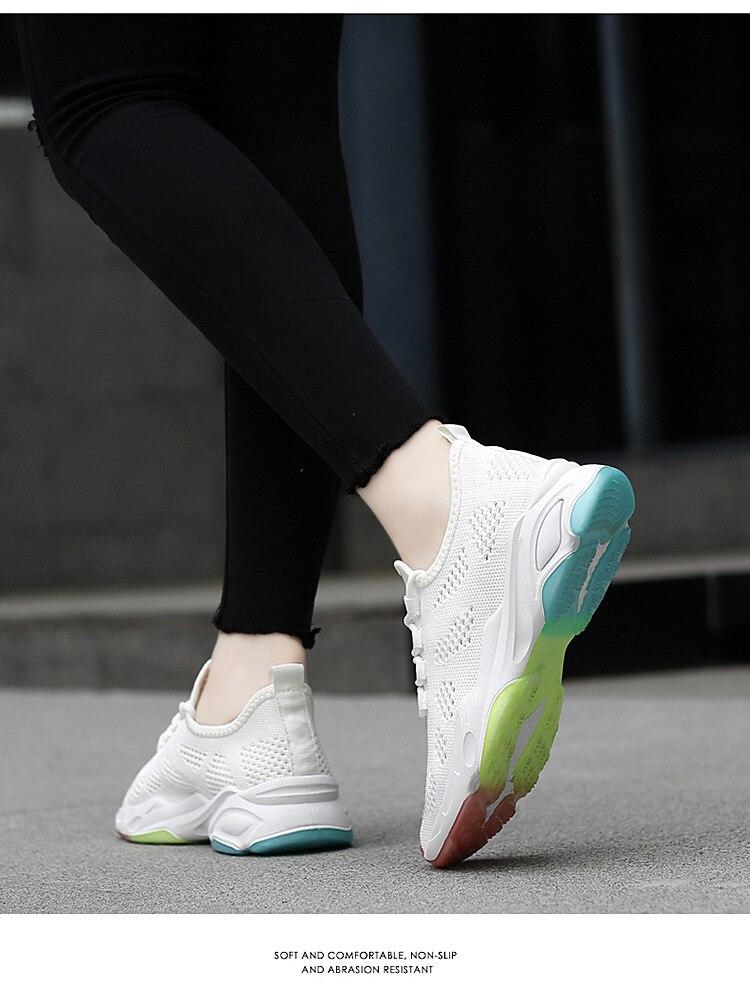 malha esportes sapatos de fundo macio confortável