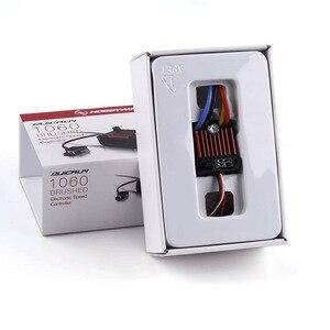Image 1 - 1 шт. оригинальный щеточный электронный контроллер скорости HobbyWing quirun 1060 60A ESC для 1:10 радиоуправляемого автомобиля водонепроницаемый для радиоуправляемого автомобиля