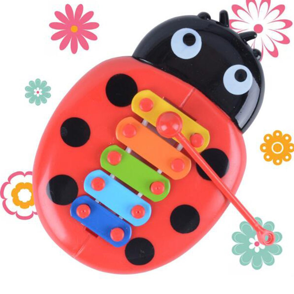 Hand Knock Piano Educational Toys Hand Harp Boy Girl Musical Baby Toy 8-Note Xylophone For 0-3 Years Old Children Toddler