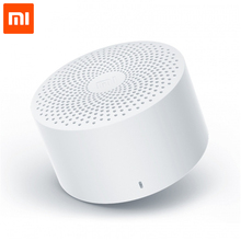 Bluetooth-Колонка Xiaomi Mijia, Беспроводная портативная мини-колонка с голосовым управлением, стерео, басы, микрофон, HD качество, звонки, 2020