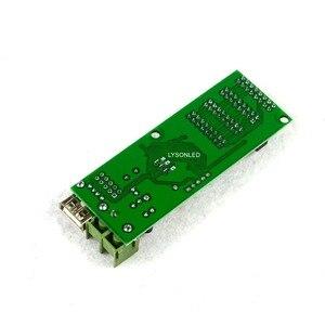 Image 2 - 5 قطعة/الوحدة XY UA/ HC 1(4xHub75B) كامل اللون رمادي خلفية الرسوم المتحركة LED بطاقة التحكم ، RGB عرض صغيرة