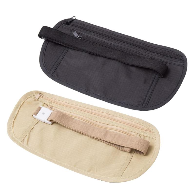 Nylon Invisible Camping Riding Waist Fanny Packs Multifunction Women Men Outdoor Sports Anti-theft Adjustable Belly Bags