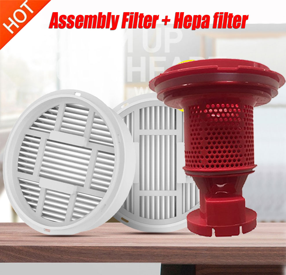 Cyclone Assembly Filter + Hepa Filter For Xiaomi Deerma VC20S VC20 VC21 Handheld Vacuum Cleaner Parts Accessories Cyclone Tower