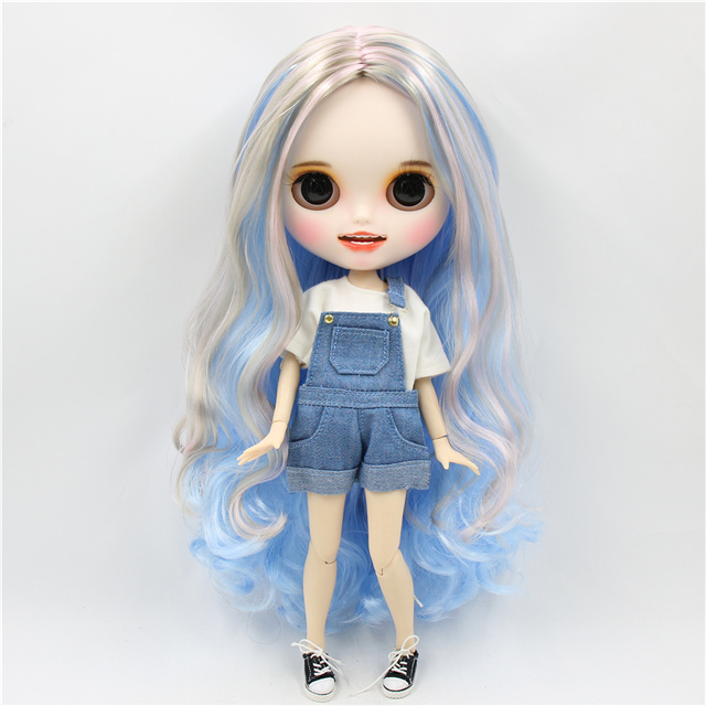Kimberly – Premium Custom Blythe Doll with Smiling Face 1
