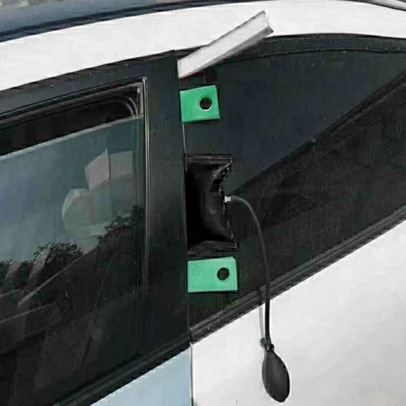 Auto Deurslot Out Emergency Open Unlock Key Gereedschap Kit + Zwart Luchtpomp Universele G6KC