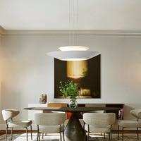 Post Modern Simple Living Room Chandelier Nordic Creative Cool Bedroom Led Art Bar round Restaurant Chandelier