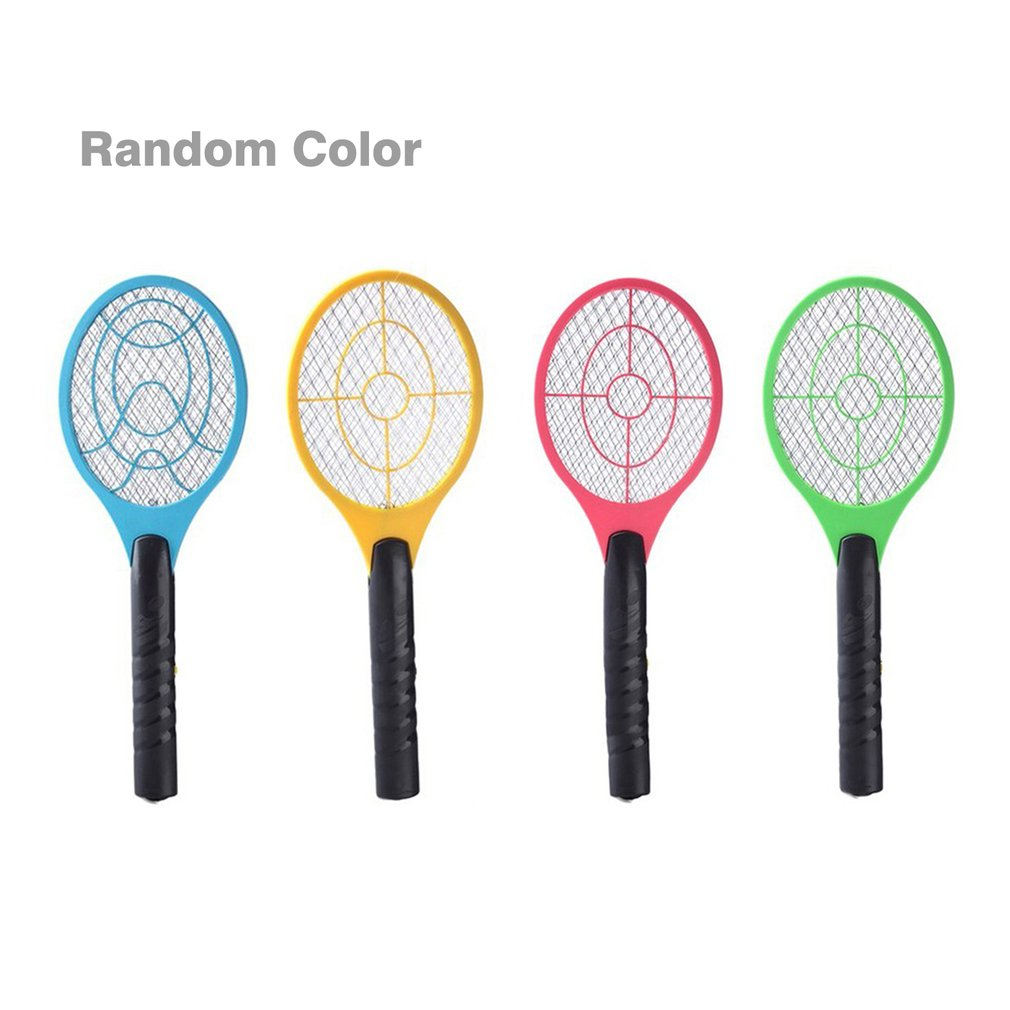 Lightweight Handheld Electric Tennis Racket Mosquito Killer Battery Powered Electric Mosquito Swatter For Home Use Dropshipping