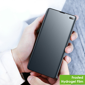 Image 5 - Матовая пленка для Samsung Galaxy S20, A51, A50, Note10 plus, 3D изогнутая защитная пленка без отпечатков пальцев, матовая Гидрогелевая пленка, не стекло